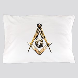 Masonic Mind (Yellowish) Pillow Case