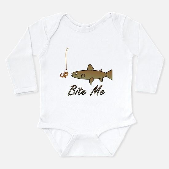 Bite Me Fish Infant Bodysuit Body Suit