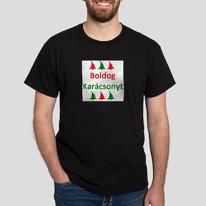 boldog karacsonyt Dark T-Shirt