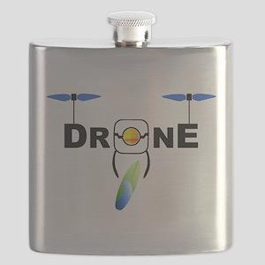 Drone Surfboard Flask