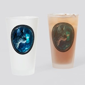 Space Kitty Drinking Glass
