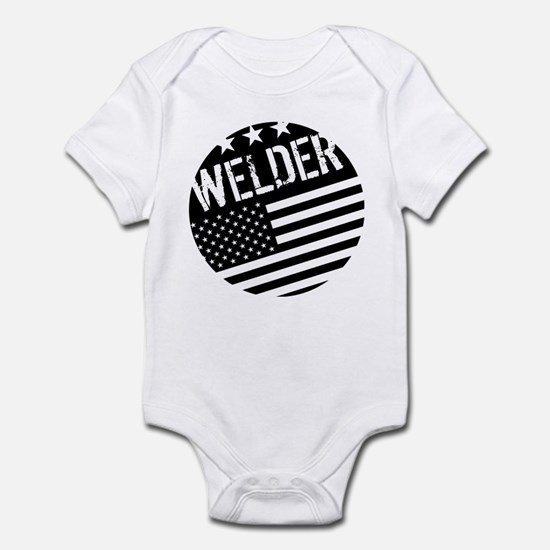 Welder: Black Flag (Circle) Body Suit