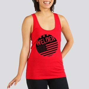 Welder: Black Flag (Circle) Tank Top