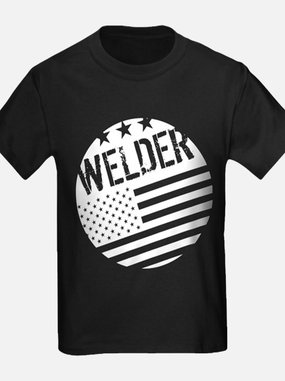 Welder: White Flag (Circle) T-Shirt
