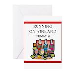 tennis Greeting Cards