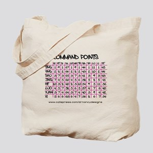 Command Points Tote Bag