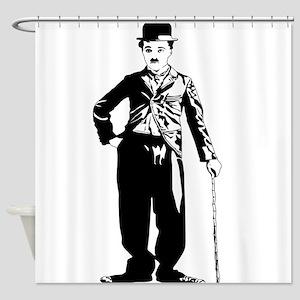Chaplin Shower Curtain