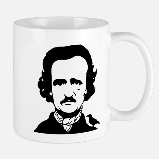 Nevermore...Edgar Allen Poe and his Raven Mugs