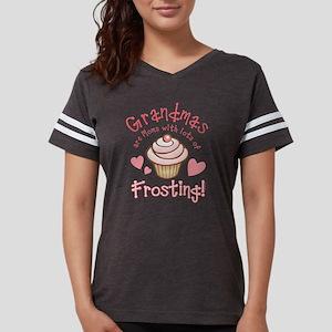 Grandmas Frosting Womens Football Shirt T-Shirt