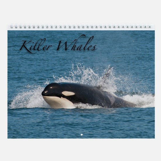 Wall Calendar-Southern Resident Killer Whale