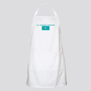 YES I HAVE BEEN TO KAZAKHSTAN BBQ Apron