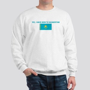 YES I HAVE BEEN TO KAZAKHSTAN Sweatshirt