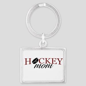 Hockey Mom Landscape Keychain