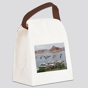 Lake Powell Marina, Arizona, USA Canvas Lunch Bag