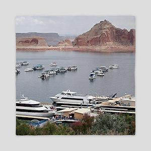 Lake Powell Marina, Arizona, USA Queen Duvet