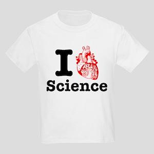 I Heart Science Kids Light T-Shirt