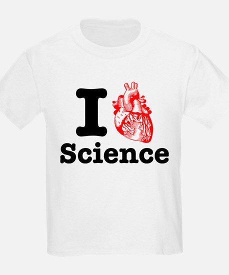 I Heart Science T-Shirt