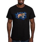 High jump Fitted Dark T-Shirts