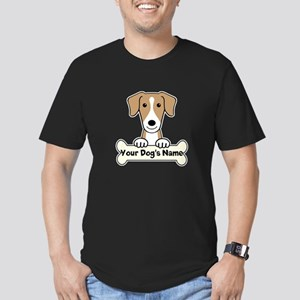 Personalized American Men's Fitted T-Shirt (dark)
