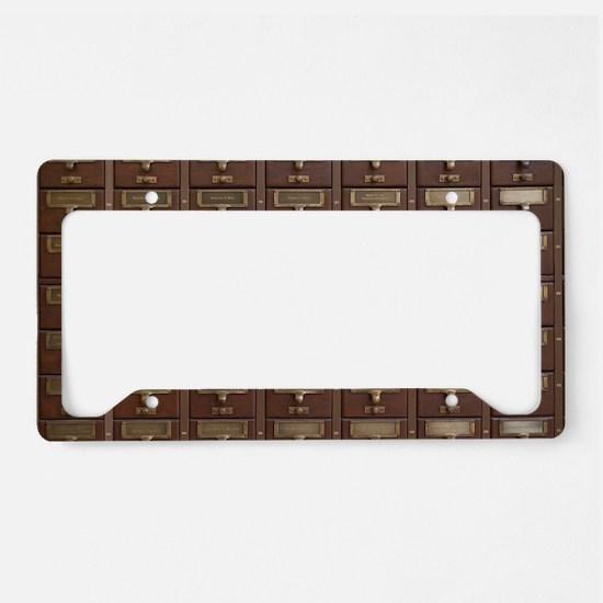 Cute Furniture License Plate Holder