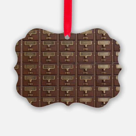 Unique Librarians Ornament