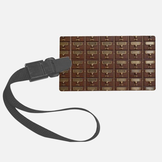 Cool Vintage reading Luggage Tag