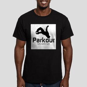 Parkour, Anytime Ash Grey T-Shirt