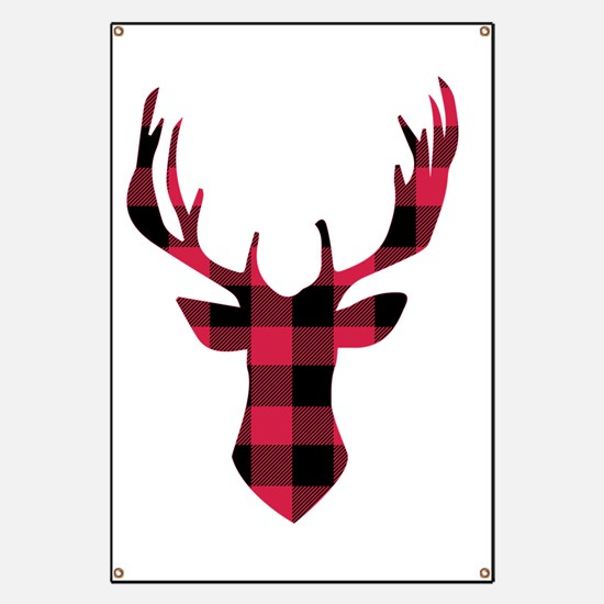 Cute Stag Banner