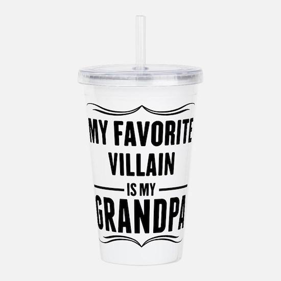 My Favorite Villain Is My Grandpa Acrylic Double-w