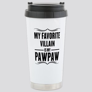 My Favorite Villain Is My Papaw Travel Mug