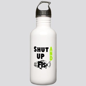 Shut up and Fish Water Bottle