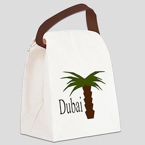 I love Dubai, amazing city Canvas Lunch Bag