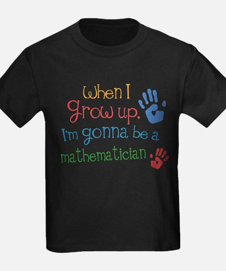 Kids Future Mathematician T-Shirt