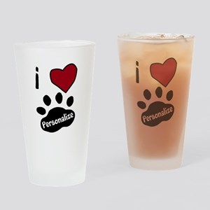 Personalized Pet Drinking Glass
