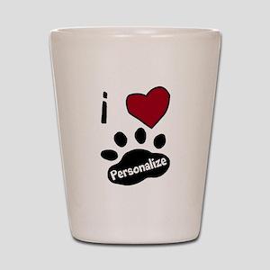 Personalized Pet Shot Glass