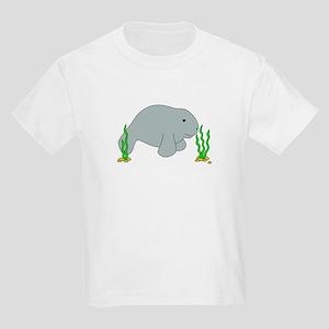 Hugh Manatee Kids Light T-Shirt