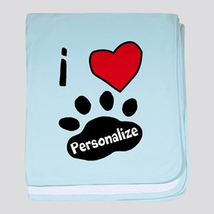 Personalized Pet baby blanket