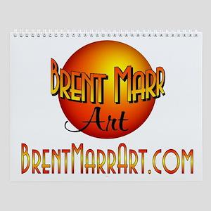 Brent Marr Art Wall Calendar