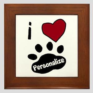Personalized Pet Framed Tile