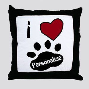 Personalized Pet Throw Pillow