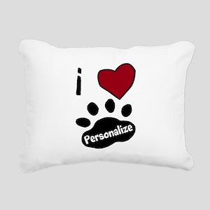 Personalized Pet Rectangular Canvas Pillow