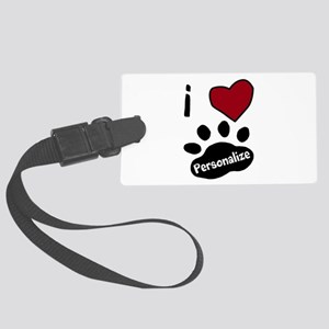 Personalized Pet Luggage Tag