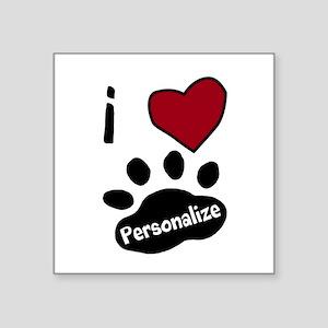 Personalized Pet Sticker