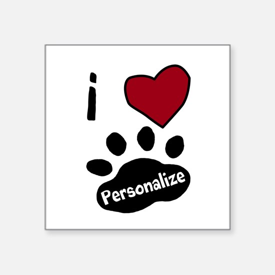 Personalized Pet Sticker