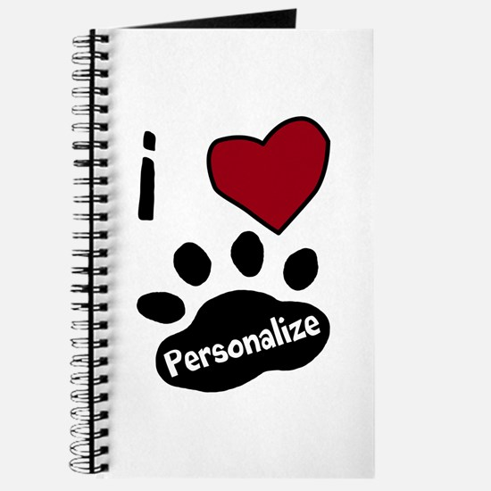 Personalized Pet Journal