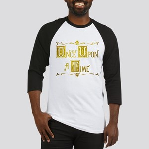Once Upon a Time Book Title Baseball Jersey