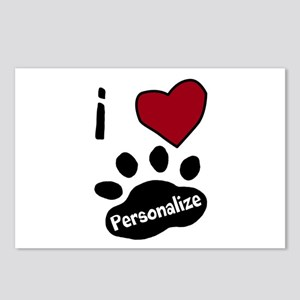 Personalized Pet Postcards (Package of 8)