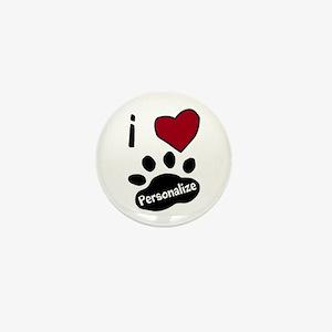 Personalized Pet Mini Button