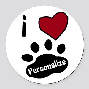 Personalized Pet Round Car Magnet