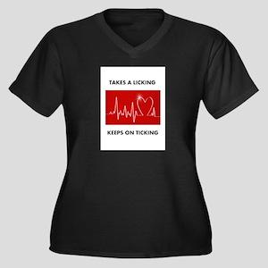 Fun Post Heart Surgery Plus Size T-Shirt